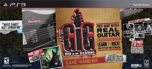 Power Gig: Rise of the SixString Band Bundle - Playstation 3