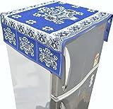 Nisol Blue Pot Mandala Fridge Top Cover