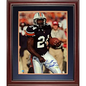 Carnell Cadillac Williams Autographed Auburn Tigers Deluxe Framed 16x20 Photo by PalmBeachAutographs.com