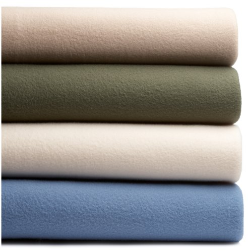 Martex Super Soft Fleece Twin Blanket, Ivory