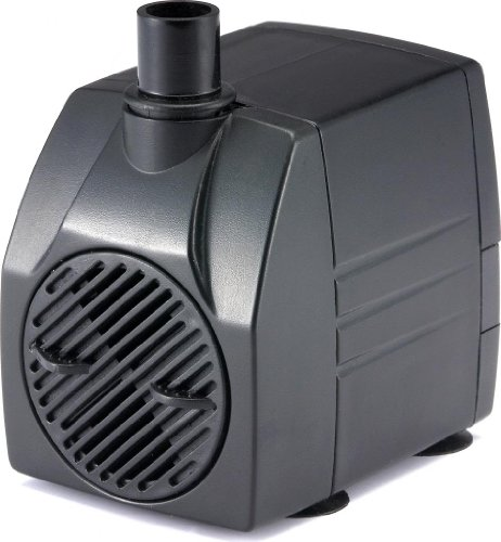Pp40006 : 400 Gph, Submersible, Aquaponics/Hydroponics/Fountain/Pond/Aquarium Pump - 6' Cord