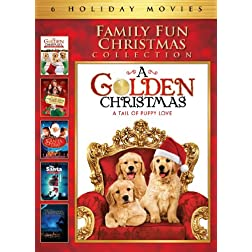 Family Fun Christmas Collection Movie 6 Pack (A Golden Christmas, A Golden Christmas: The Second Tail, The Santa Incident, The Santa Trap, The Night Before the Night Before Christmas, The Boy Who Saved Christmas)