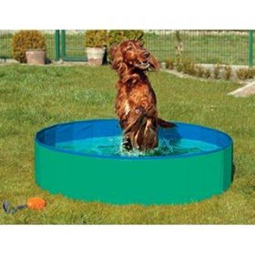 Bild von: Karlie Flamingo 31556 Doggy Pool, Durchmesser 80 cm, grün / blau