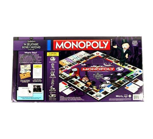 Imagen de Pesadilla antes de Navidad Monopoly - Edición Coleccionista juego clásico