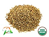 Pride Of India - Organic Ajwain Seed Whole, Half Pound