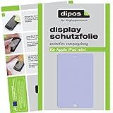 6x Dipos Antireflex Displayschutzfolie für Apple iPad Mini - *TESTSIEGER Zeitschrift c`t - made in Germany