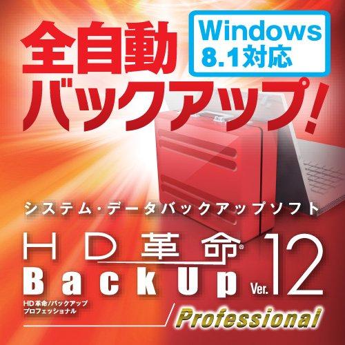 HD革命/BackUp Ver.12s Professional ダウンロード版 [ダウンロード]