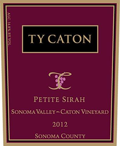 2012 Ty Caton Petite Sirah 750 Ml