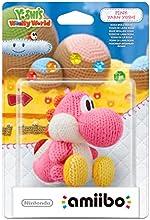 Nintendo - Figura Amiibo Yoshi Lana, Color Rosa