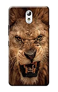 Lenovo P1m Cover , Premium Quality Designer Printed 3D Lightweight Slim Matte Finish Hard Case Back Cover for Lenovo Vibe P1m by Tamah
