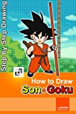 How To Draw Kid Goku: Step-By-Step Drawing Lessons for Children