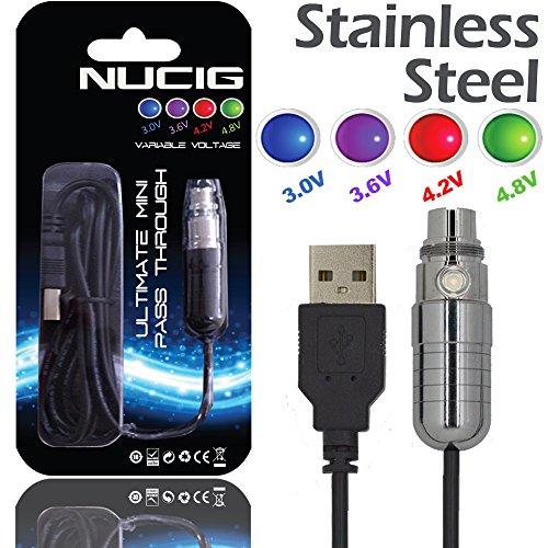 nucigr-mini-stainless-steel-pass-through-ecig-battery-free-bonus-1-amazon-rated-nucigr-brand-standar