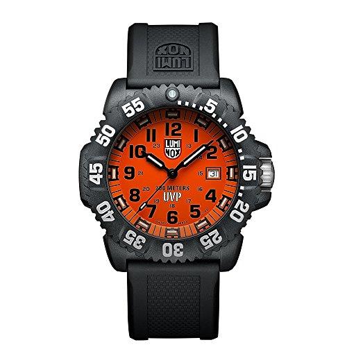 luminox-mens-scott-cassell-44mm-black-silicone-band-polycarbonate-case-quartz-orange-dial-watch-3059