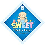 Sweet Baby Boy On Board Car sign Baby on Board Sign Baby on Board Decal Bumper Sticker Baby Sign Baby Car Sign Baby on Board Car Sign Bumper Sticker Style Baby Boy On Board Sign Baby Car Sign