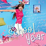 Delicious Stationery Hardcover Scrapbooking Album W/ Plastic Sleeves - My School Year: (For Teen Girls) (Delicious Stationery)