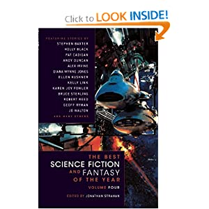 The Best Science Fiction and Fantasy of the Year Volume 4 by Jonathan Strahan