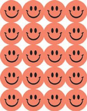 Eureka Self Adhesive Scented Smile Stickers - Pink