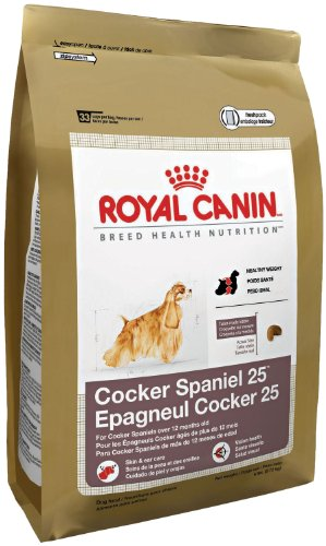 Royal Canin Dry Dog Food, Medium Cocker Spaniel 25 Formula, 25-Pound Bag