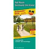 Radwanderkarte Rad-Route Dortmund-Ems-Kanal: Mit Ausflugszielen, Einkehr- & Freizeittipps, wetterfest, reißfest, abwischbar, GPS-genau. 1:50000