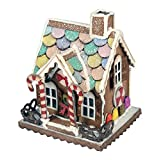 Sizzix, Multi Color, Bigz Die 661608, Village Gingerbread by Tim Holtz, One Size (Color: Multi Color, Tamaño: One Size)