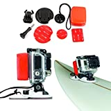 FUNNYKIT 40-in-1 Sport Accessory Kit with Waterproof Pouch for Gopro Hero 4/ 3+/ 3/ 2/ 1