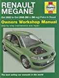 Renault Megane Petrol & Diesel: 2002 to 2008 (Haynes Service and Repair Manuals) by Jex. R. M. ( 2011 ) Hardcover