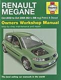 Renault Megane Petrol & Diesel: 2002 to 2008 (Haynes Service and Repair Manuals) by Jex. R. M. ( 2011 ) Hardcover