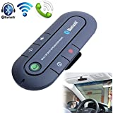 Sun Visor In-car Portable Bluetooth Speakerphone Multipoint Wireless Hands-free Bluetooth Car Kit For Iphone Ipad...