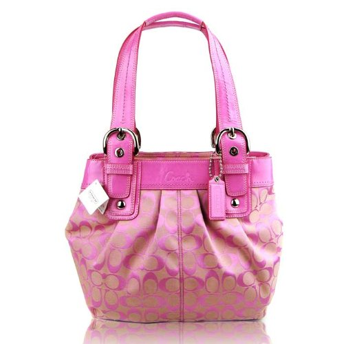 Bolsos De Trapillo: Coach Handbags In Pink