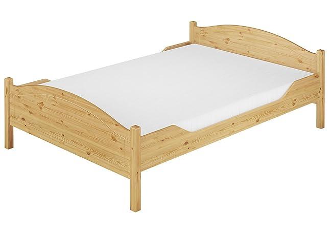 Largo letto pino massello Eco 140x200 anche per adulti con doghe e materasso 60.30-14 M FNV