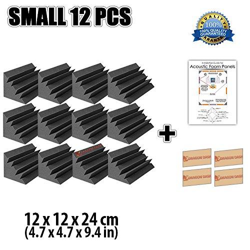 super-dash-12-unidades-de-12-x-12-x-24-cm-insonorizacion-negro-bass-trap-espuma-absorcion-aislamient