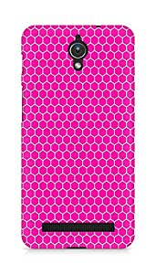 Amez designer printed 3d premium high quality back case cover for Asus Zenfone C ZC451CG (Red Pattern2)