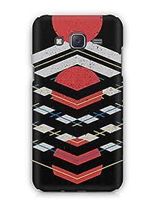 Cover Affair Modern Art Printed Back Cover Case for Samsung Galaxy J5 (2016)