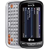 LG Rumor Reflex LN272 Sprint CDMA 3G Slider Phone with 2MP Camera - Black