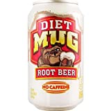 Diet Mug Root Beer 12 FL OZ (355ml) - 6 Cans