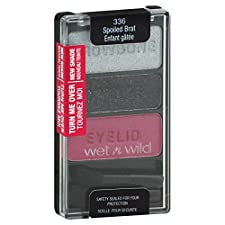 Wet N Wild Coloricon Eye Shadow Trio, Spoiled Brat 336, 0.12 oz (3.5 g)