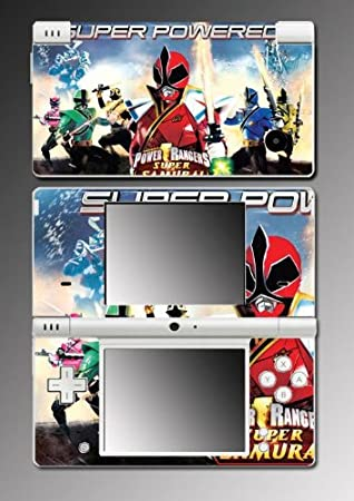 Mighty Morphin Power Rangers MMPR Super Samurai Video Game Vinyl Decal Cover Skin Protector #5 for Nintendo DSi