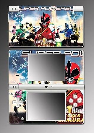 Mighty Morphin Power Rangers MMPR Super Samurai Video Game Vinyl Decal Cover Skin Protector #5 for Nintendo DSi