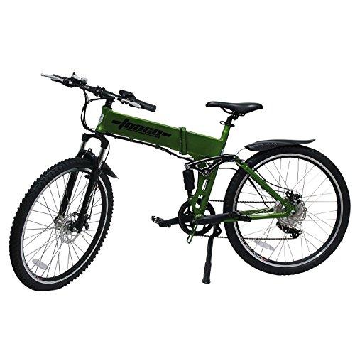 Details zu Mountainbike E-Bike Elektro 26″ 66cm ALU 6 Gang Shimano Fahrrad Faltrad Ebike