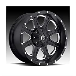 Fuel D534 BOOST MATTE BLACK 20×9″ Matte Black – 20 offset