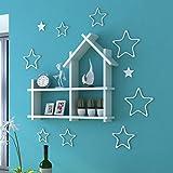 Designer MDF Decorative Hut Shape Wall Shelf Set Of 1 For Home/Office