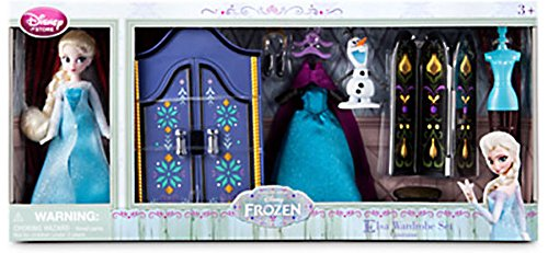 Disney Frozen Elsa Wardrobe Mini Doll Set