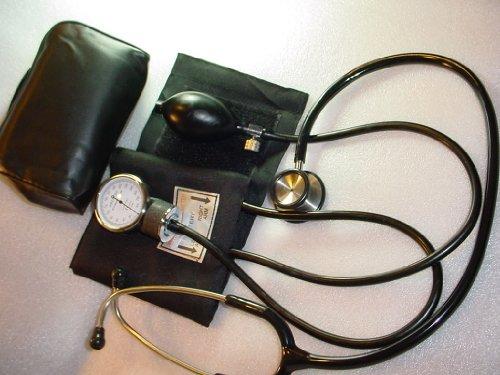 Cheap Abertek Sphygmomanometer & Cardiology Stainless Steel Stethoscope (B0043LVL46)