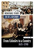 img - for Debatable Issues in U.S. History [5 volumes] (Middle School Reference) (2004-06-30) book / textbook / text book