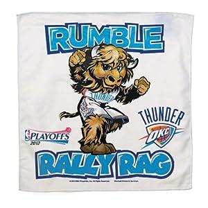 Oklahoma City Thunder 16x16 Rumble Rally Towel