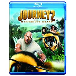 Journey 2: The Mysterious Island (Movie Only Edition + UltraViolet) [Blu-ray]