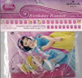Disney Princess Birthday Banner - Personalize with Numbers