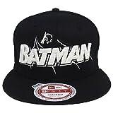 Batman New Era Monounder Snapback Cap Hat Black