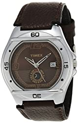 Timex Fashion Analog Brown Dial Mens Watch - EL02
