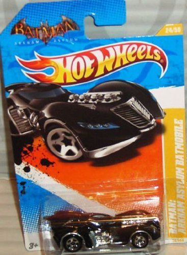 Hot Wheels 2011 HW Premiere #24/244 ARKHAM ASYLUM BATMOBILE #24/50 Collectible Car - 1